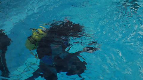 diving pool 30 Stock Video Footage