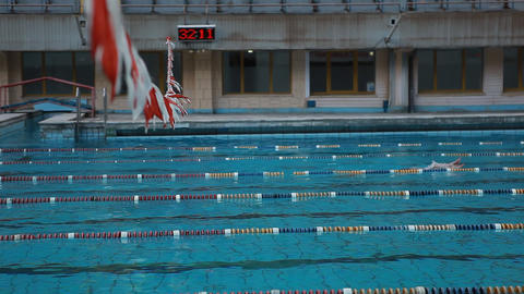 diving pool 34 Stock Video Footage