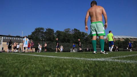 football 05 Stock Video Footage