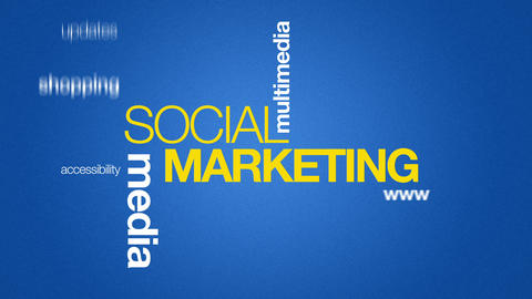 Social Marketing Stock Video Footage