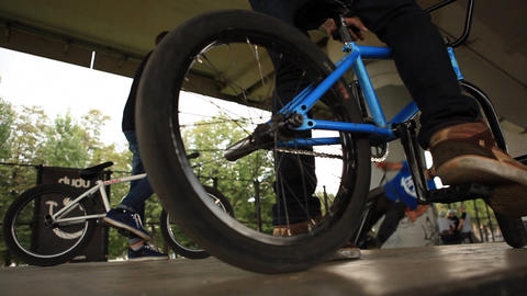 bicycle 04 Stock Video Footage