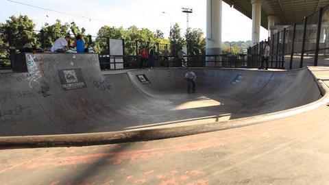 skate 01 Stock Video Footage
