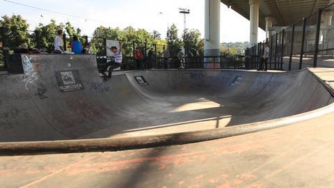 skate 01 Footage