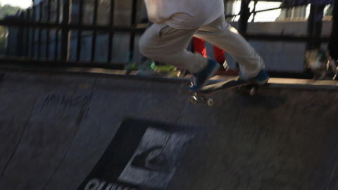 skate 03 Stock Video Footage