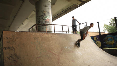 skate 05 Stock Video Footage