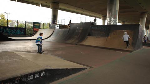 skate 07 Stock Video Footage
