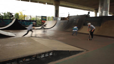 skate 07 Stock Video Footage