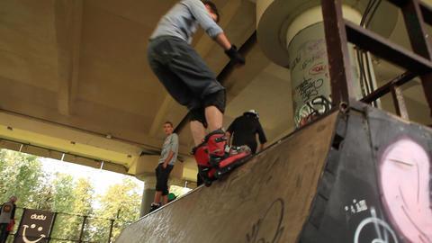 skate 09 Stock Video Footage