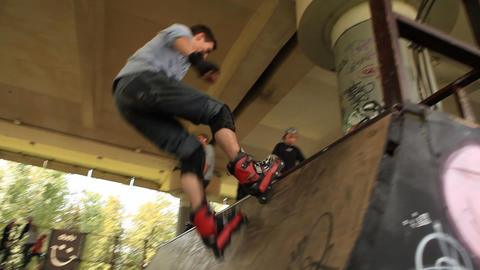 skate 09 Stock Video Footage