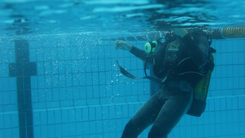 underwater 02 Stock Video Footage