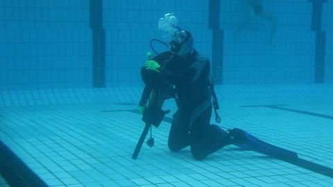 underwater 04 Stock Video Footage