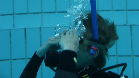 underwater 12 Stock Video Footage