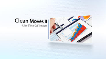 Clean Moves II - After Effects Template After Effects Project
