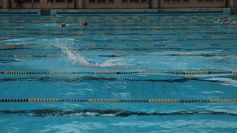 pool 10 Stock Video Footage