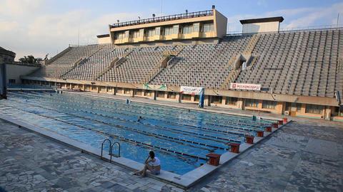 pool 36 Stock Video Footage