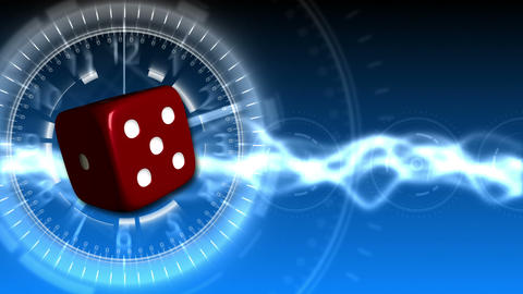 Casino Dice Background - Casino 31 (HD) Animation