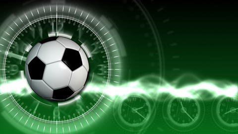 Soccer Ball Sport Background 13 (HD) Animation