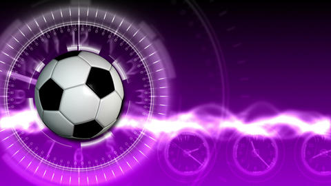 Soccer Ball Sport Background 17 (HD) Animation