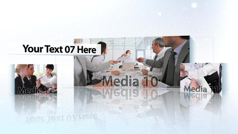 Corporate Boxes Presentation - After Effects Template After Effects Template