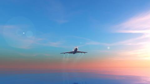 飛行機 Stock Video Footage