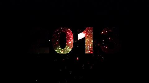 2013 fireworks 02 Stock Video Footage