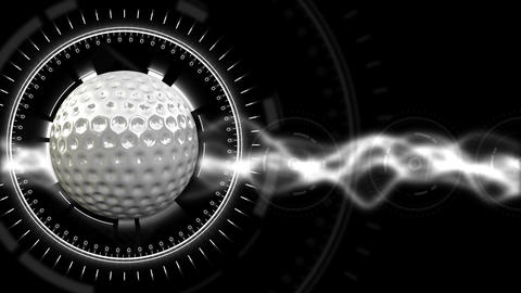Golf Ball Background 28 (HD) stock footage