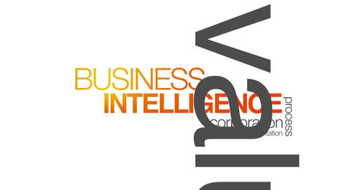 Business Intelligence Stock Video Footage