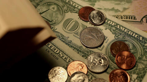 money Stock Video Footage