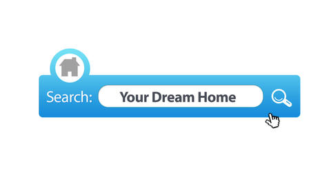 Search Your Dream Home Stock Video Footage