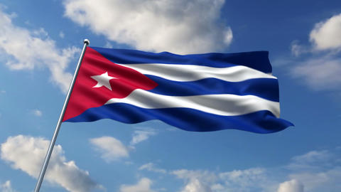 Cuban flag Animation
