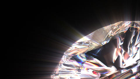 Diamond background Stock Video Footage