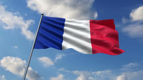 French flag Animation