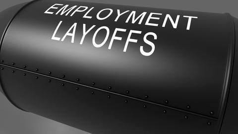 employment layoffs Stock Video Footage