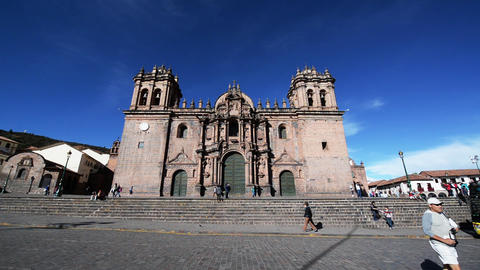 Cuzco Cathedral Activity Footage