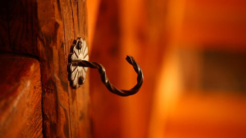 Close Up Of Hook stock footage