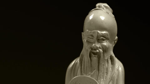 Carved figurine Footage