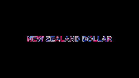 Letters are collected in Currency name NEW ZEALAND DOLLAR, then scattered into Animation