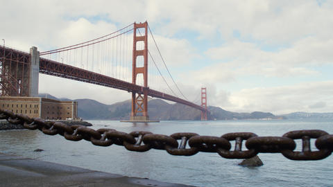 The Golden Gate Bridge in San Francisco Image