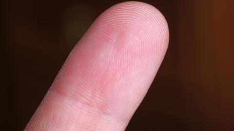 human finger close up ビデオ