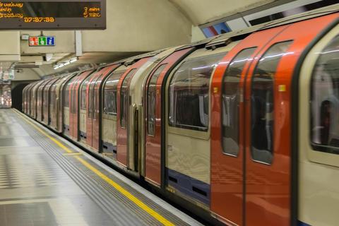 London, United Kingdom, February 17, 2018: London Underground station Photo