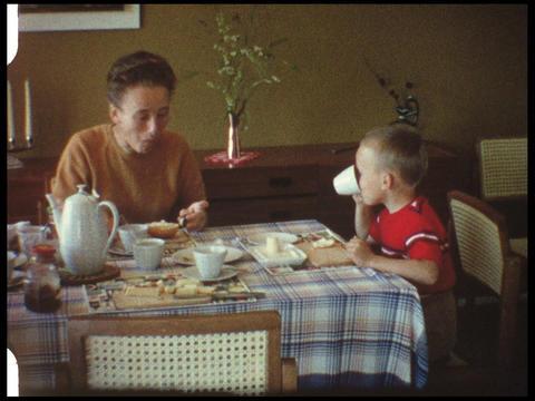 Family Breakfast Footage
