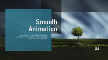Minimalist & Clean Presentation After Effects Template