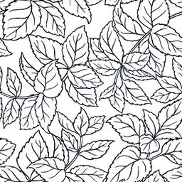 melissa seamless pattern Vector