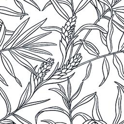 ginger seamless pattern Vector