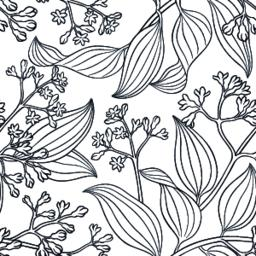 cinnamon seamless pattern Vector