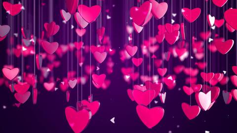 Romantic Love Heart Background Image