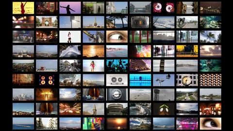 Multimedia Wall Animación