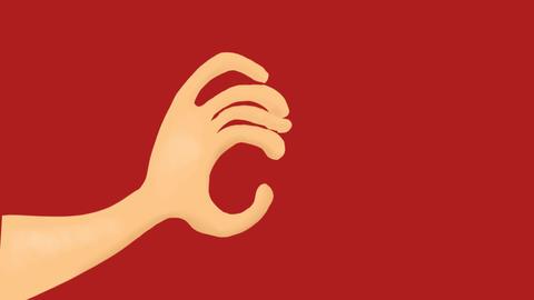 Grabby hand Animation