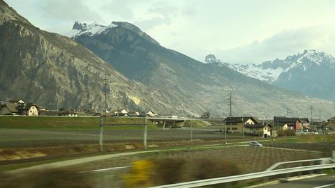Beautiful Swiss Roads Footage