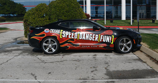 Official Pace car for Texas Motor Speedway Live Action